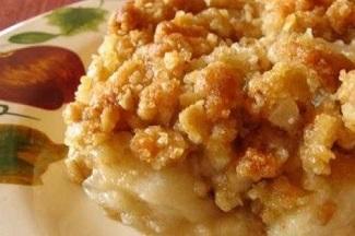 Croustade aux Pommes (Micro-Ondes) 325x216
